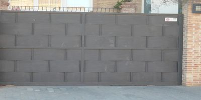 Puertas Automáticas J.C puerta corredera de chapa