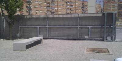 Puertas Automáticas J.C puerta corredera de malla