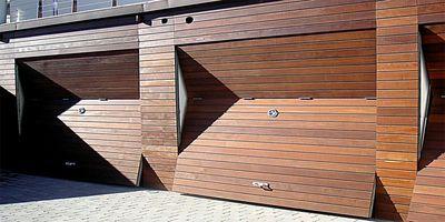Puertas Automáticas J.C puerta pre-leva madera