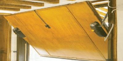 Puertas Automáticas J.C puerta basculante madera