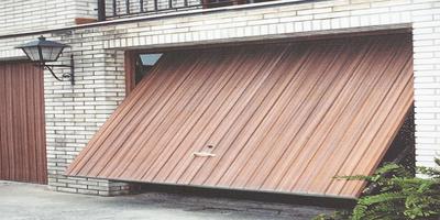 Puertas Automáticas J.C puerta basculante de madera