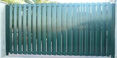 Puertas Automáticas J.C puerta batiente de aluminio